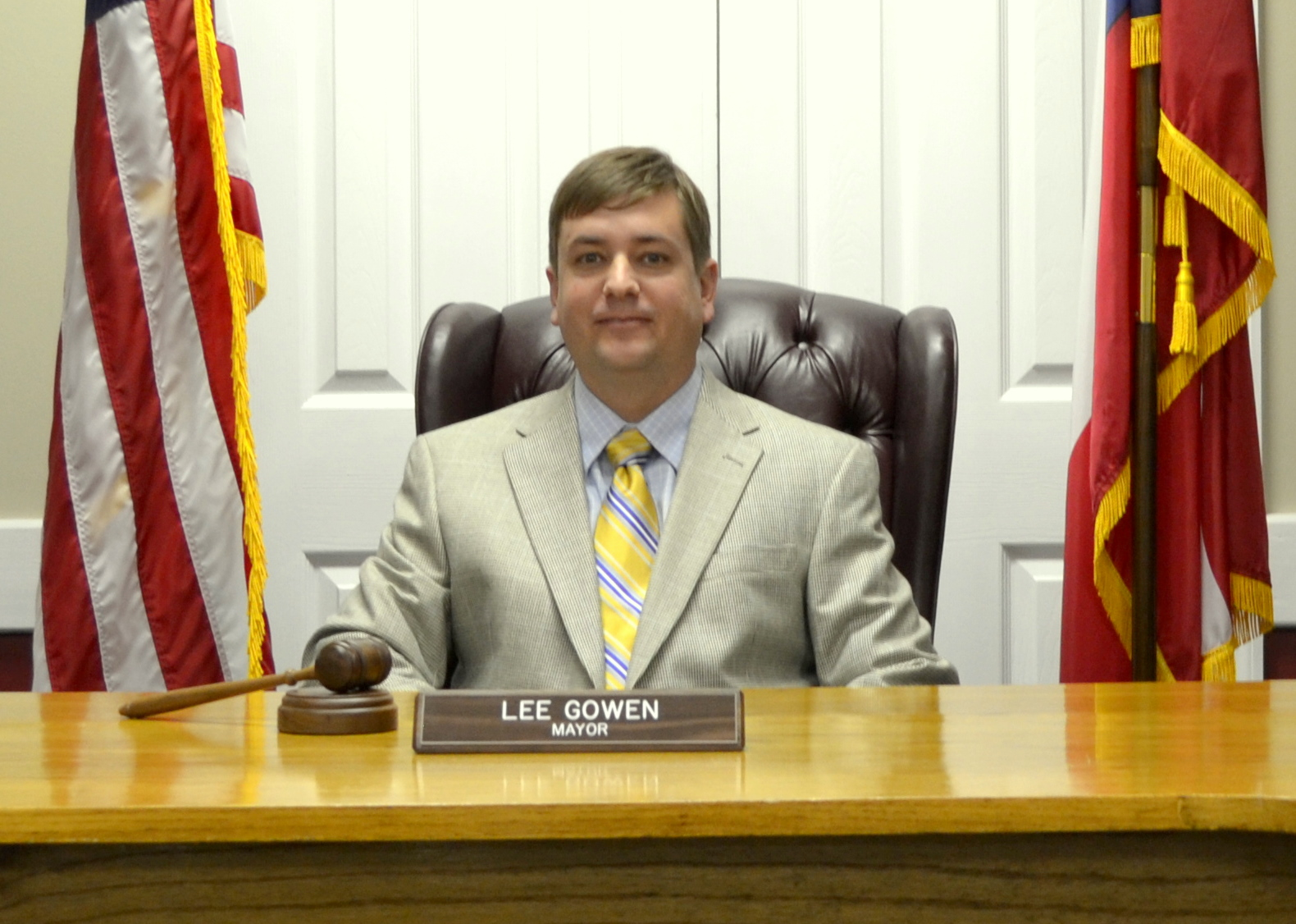 Mayor Lee Gowen