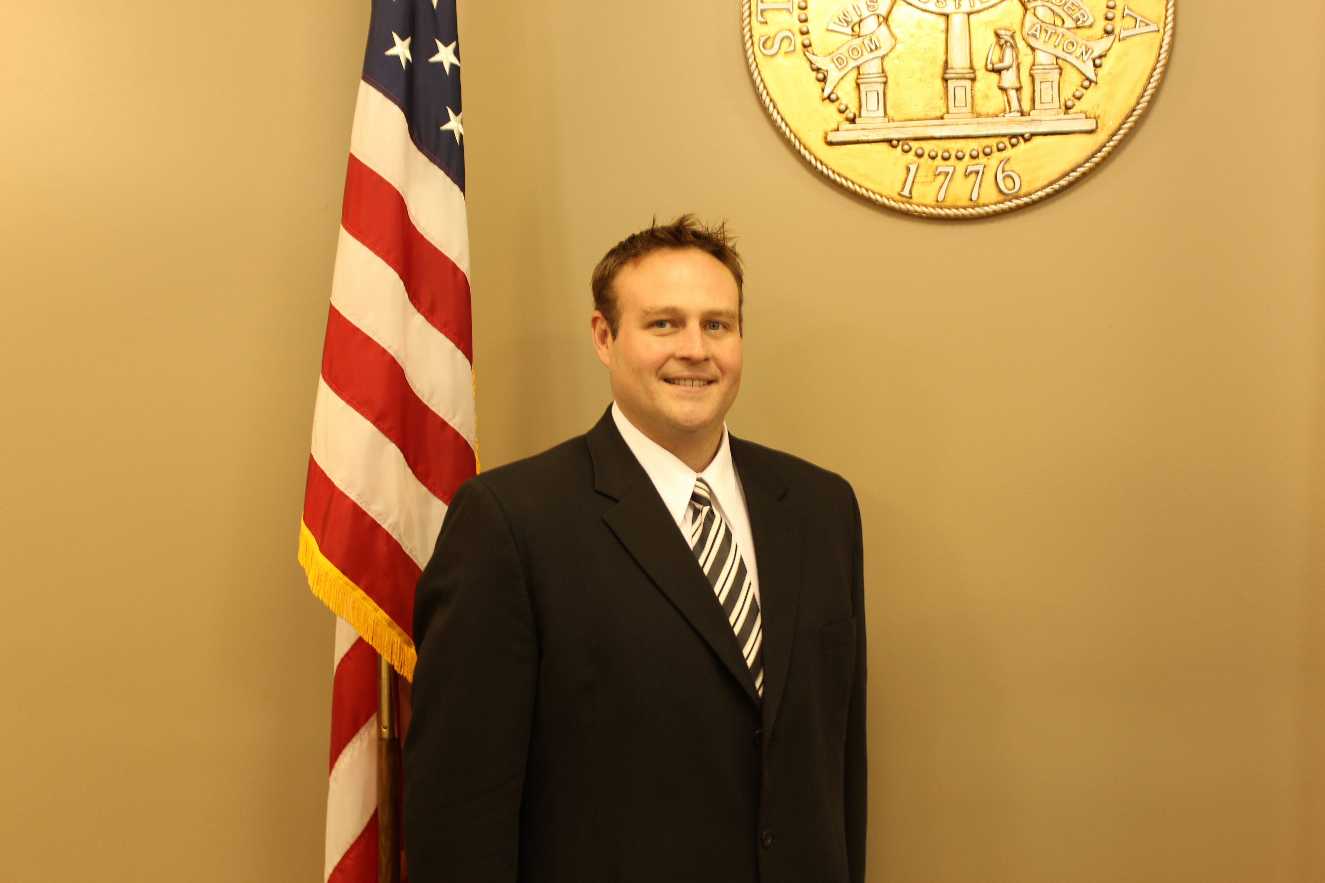 Commissioner Luke Gowen